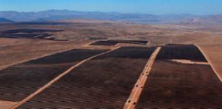 Planta Solar El Romero, ubicada en la Región de Atacama.