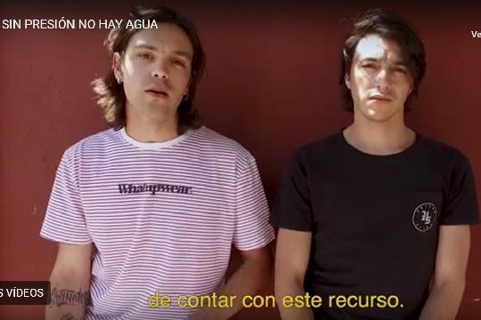Actores y músicos chilenos se unen para que la Constitución garantice el agua a toda la población
