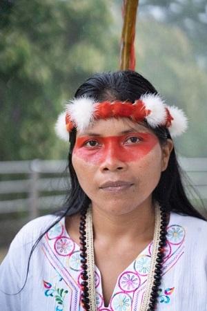 Una de las mujeres que están salvando al planeta de la emergencia climática