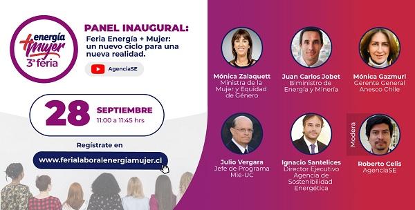 Tercera Feria Energía + Mujer 2021: Adaptación y Transformación con Energía de Mujer
