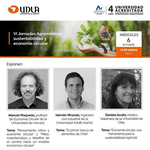 VI Jornadas Agronómicas de la Facultad de Medicina Veterinaria y Agronomía de UDLA