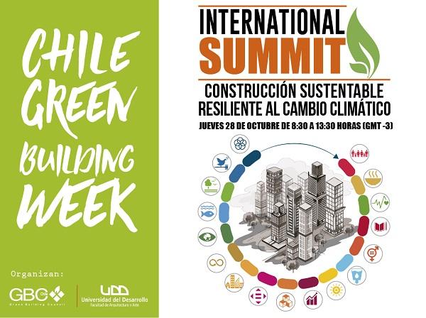 """International Summit """"Construcción Sustentable Resiliente al Cambio Climático"""""""